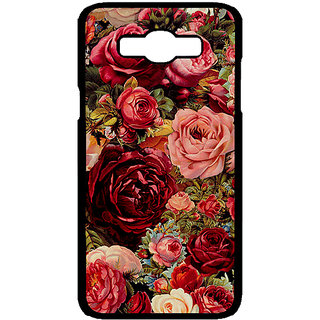 Enhance Your Phone Floral Pattern  Back Cover Case For Samsung Galaxy J7