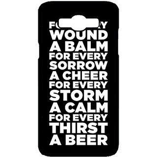 Enhance Your Phone Beer Quote Back Cover Case For Samsung Galaxy J7