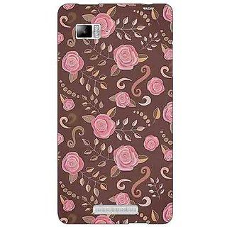 Enhance Your Phone Soft Roses Pattern Back Cover Case For Lenovo K910