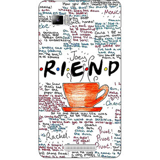 Enhance Your Phone FRIENDS Back Cover Case For Lenovo K910