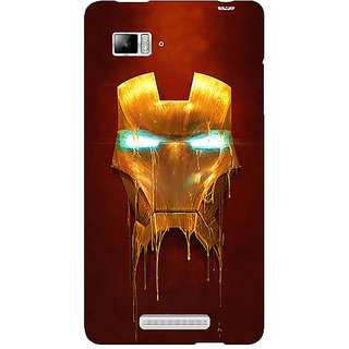 Enhance Your Phone Superheroes Ironman Back Cover Case For Lenovo K910
