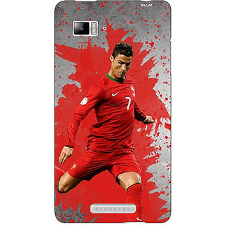 Enhance Your Phone Cristiano Ronaldo Portugal Back Cover Case For Lenovo K910