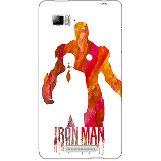 Enhance Your Phone Superheroes Iron Man Back Cover Case For Lenovo K910