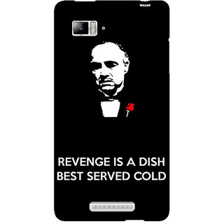 Enhance Your Phone The Godfather Back Cover Case For Lenovo K910