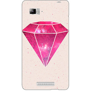 Enhance Your Phone Diamond Back Cover Case For Lenovo K910