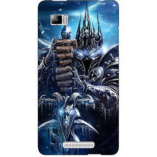 Enhance Your Phone World Of Warcraft Back Cover Case For Lenovo K910
