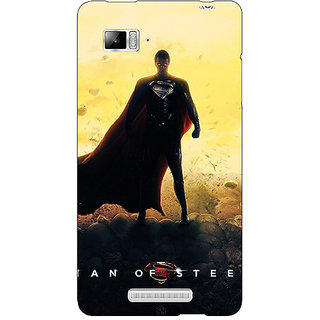 Enhance Your Phone Superheroes Superman Back Cover Case For Lenovo K910
