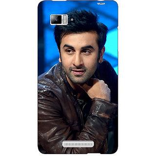 Enhance Your Phone Bollywood Superstar Ranbir Kapoor Back Cover Case For Lenovo K910