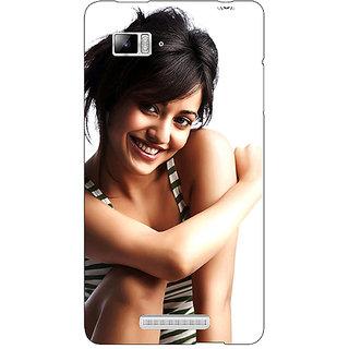 Enhance Your Phone Bollywood Superstar Neha Sharma Back Cover Case For Lenovo K910