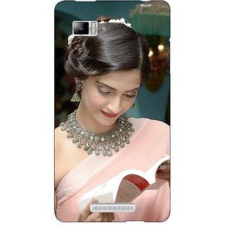 Enhance Your Phone Bollywood Superstar Sonam Kapoor Back Cover Case For Lenovo K910