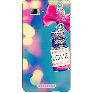 Enhance Your Phone Love Bottle Back Cover Case For Lenovo K910