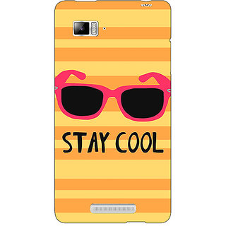 Enhance Your Phone Quotes Stay Cool Back Cover Case For Lenovo K910