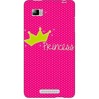 Enhance Your Phone Princess Back Cover Case For Lenovo K910