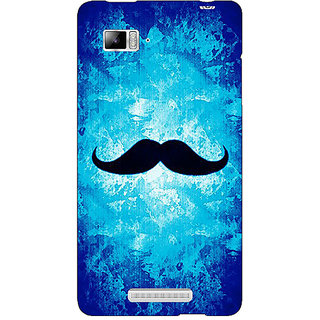Enhance Your Phone Moustache Back Cover Case For Lenovo K910