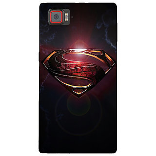 Enhance Your Phone Superheroes Superman Back Cover Case For Lenovo K920