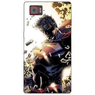 Enhance Your Phone Superheroes Superman Back Cover Case For Lenovo K920
