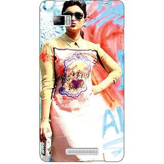 Enhance Your Phone Bollywood Superstar Parineeti Chopra Back Cover Case For Lenovo K910