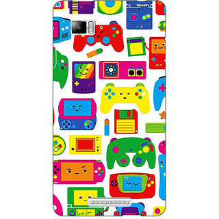 Enhance Your Phone Gamer Back Cover Case For Lenovo K910