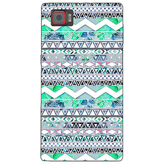 Enhance Your Phone Aztec Girly Tribal Back Cover Case For Lenovo K920
