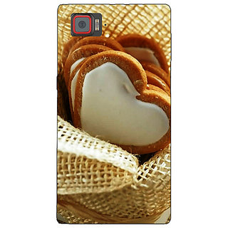 Enhance Your Phone Heart Cookies Back Cover Case For Lenovo K920