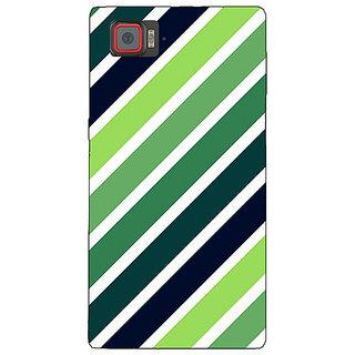 Enhance Your Phone Stripes Pattern Back Cover Case For Lenovo K920