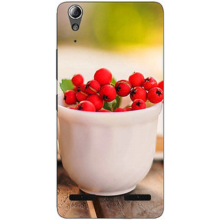Enhance Your Phone Berries Back Cover Case For Lenovo A6000