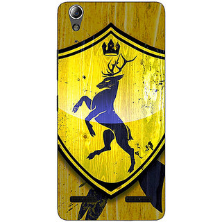 Enhance Your Phone Game Of Thrones GOT House Baratheon  Back Cover Case For Lenovo A6000
