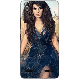 Enhance Your Phone Bollywood Superstar Jacqueline Fernandez Back Cover Case For Lenovo A6000