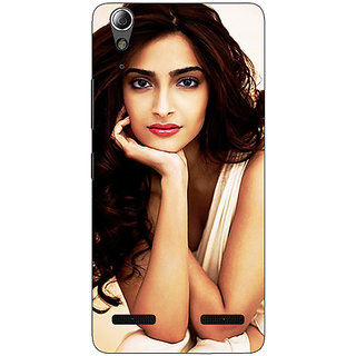 Enhance Your Phone Bollywood Superstar Sonam Kapoor Back Cover Case For Lenovo A6000