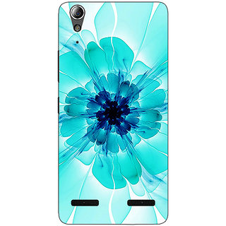 Enhance Your Phone Abstract Flower Pattern Back Cover Case For Lenovo A6000