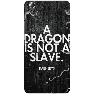 Enhance Your Phone Game Of Thrones GOT Targaryen Dragon Quote Back Cover Case For Lenovo A6000