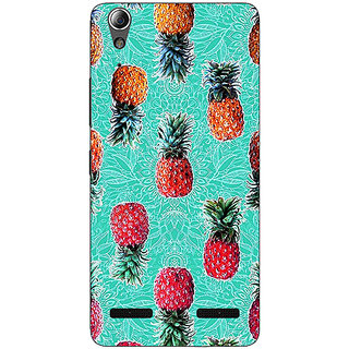 Enhance Your Phone Pineapple Pattern Back Cover Case For Lenovo A6000 Plus