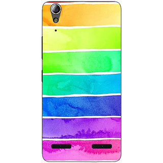 Enhance Your Phone Shades Of Life Pattern Back Cover Case For Lenovo A6000 Plus