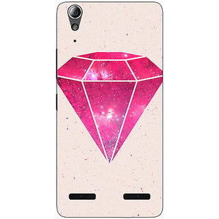Enhance Your Phone Diamond Back Cover Case For Lenovo A6000 Plus