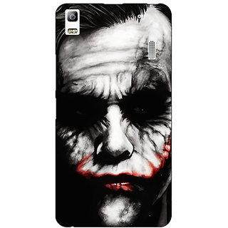 Enhance Your Phone Villain Joker Back Cover Case For Lenovo A7000