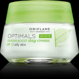 Optimals White Oxygen Boost Day Cream SPF 15 Oily Skin 50ml