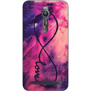 Enhance Your Phone TFIOS Infinity Love  Back Cover Case For Asus Zenfone 2
