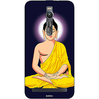 Enhance Your Phone Gautam Buddha Back Cover Case For Asus Zenfone 2