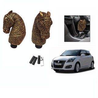 Takecare Car Horse Gear Knob For Maruti Swift Old
