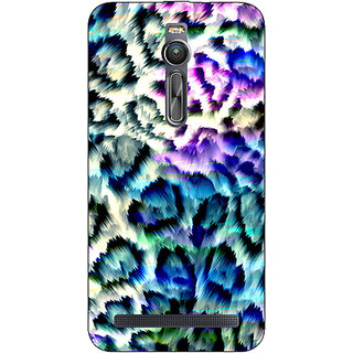 Enhance Your Phone Cheetah Leopard Print Back Cover Case For Asus Zenfone 2 ZE550 ML