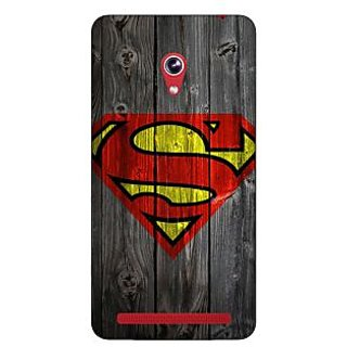 Enhance Your Phone Superheroes Superman Back Cover Case For Asus Zenfone 6 600CG