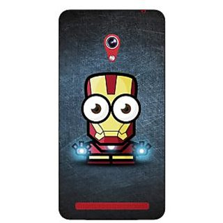 Enhance Your Phone Big Eyed Superheroes Iron Man Back Cover Case For Asus Zenfone 6 600CG