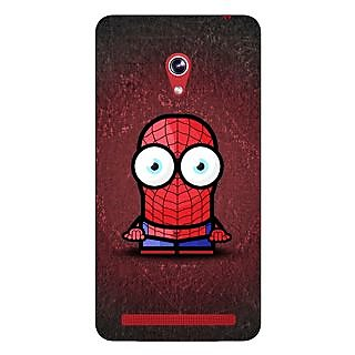 Enhance Your Phone Big Eyed Superheroes Spiderman Back Cover Case For Asus Zenfone 6 600CG
