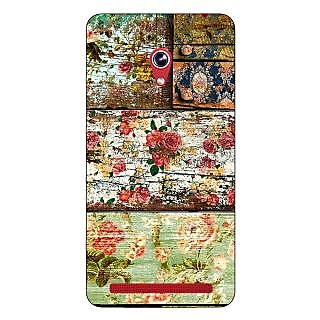 Enhance Your Phone Floral Pattern  Back Cover Case For Asus Zenfone 6 600CG