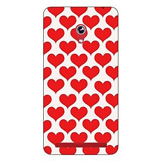 Enhance Your Phone Hearts Back Cover Case For Asus Zenfone 6 600CG