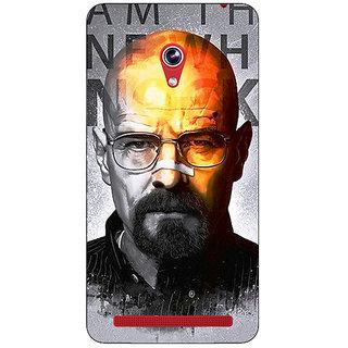 Enhance Your Phone Breaking Bad Heisenberg Back Cover Case For Asus Zenfone 6 600CG
