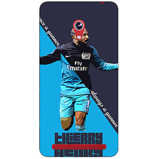 Enhance Your Phone Arsenal Therry Henry Back Cover Case For Asus Zenfone 6 600CG
