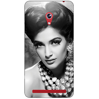 Enhance Your Phone Bollywood Superstar Sonam Kapoor Back Cover Case For Asus Zenfone 6 600CG