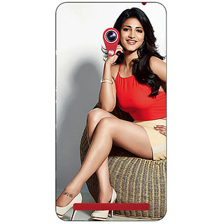 Enhance Your Phone Bollywood Superstar Shruti Hassan Back Cover Case For Asus Zenfone 6 600CG