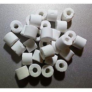 Fish Aquarium Water Ceramic Ring Filter Media 20 pieces Ceramic